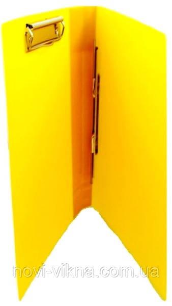 Папка А4 скоросшиватель + боковой прижим, в ассортименте.