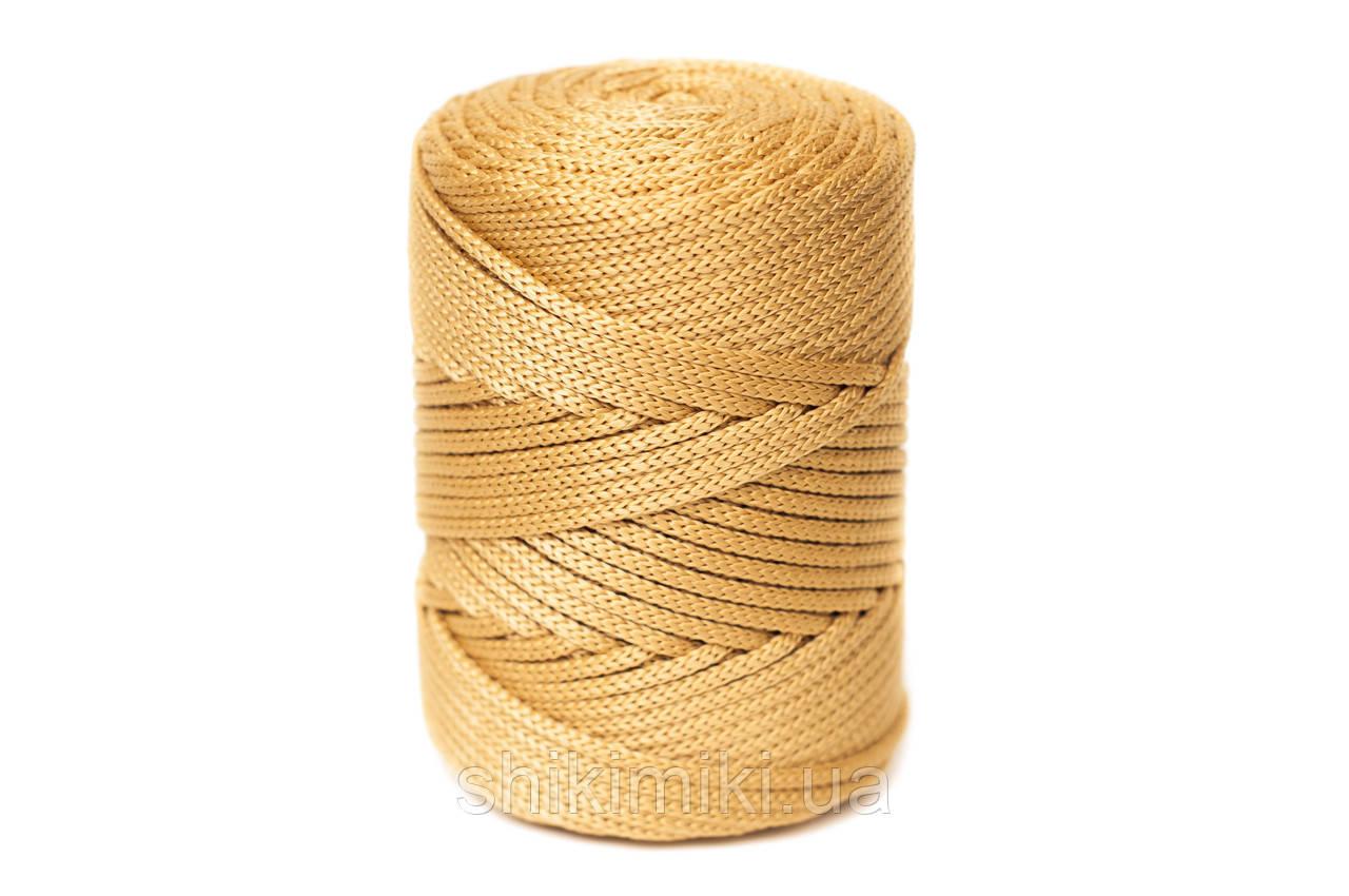 Трикотажный полипропиленовый шнур PP Cord 5 mm, цвет Миндальный