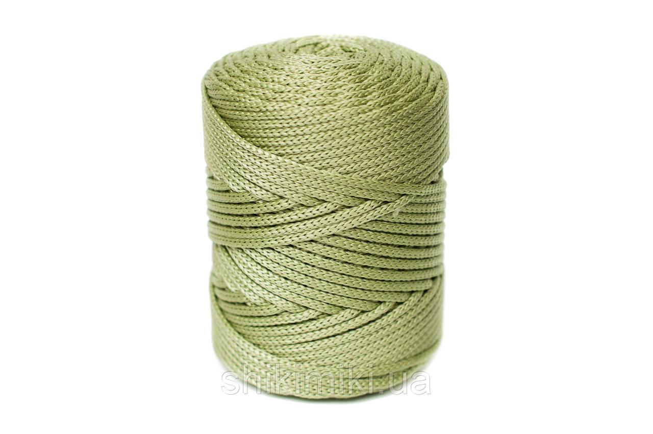 Трикотажный полипропиленовый шнур PP Cord 5 mm, цвет Авокадо