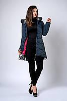 Зимняя женская стеганная куртка размеры 42,44