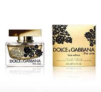 Dolce & Gabbana L'Eau The One Lace Edition парфюмированная вода 75 ml.(Дольче Габбана Л Еау Зе Уан Лейс Эдишн), фото 1