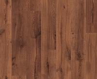 1001-Доска темного дуба vintage лакированная 32 кл, 8 мм Коллекция Eligna ламинат Quick-Step ( Квик –степ)
