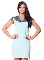 Женская ночная сорочка (S-L в расцветках)