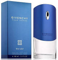 Givenchy Pour Homme Blue Label туалетная вода 100 ml. (Живанши Блю Лейбл)