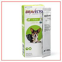 Капли Bravecto 10-20кг Spot-On (Бравекто Спот-Он) от Блох и Клещей для Собак