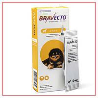 Капли Bravecto 2-4,5кг Spot-On (Бравекто Спот-Он) от Блох и Клещей для собак