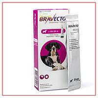 Капли Bravecto 40-56кг Spot-On (Бравекто Спот-Он) от Блох и Клещей для Собак
