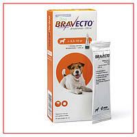 Капли Bravecto 4,5-10кг Spot-On (Бравекто Спот-Он) от Клещей и Блох для Собак