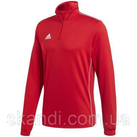 Толстовка мужская adidas Core 18 Training Top красная CV3999