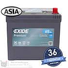 Аккумулятор автомобильный EXIDE Premium 6CT 65Ah ASIA, пусковой ток 580А [– +] (EA654), фото 2