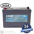 Аккумулятор автомобильный EXIDE Premium 6CT 95Ah ASIA, пусковой ток 800А [+|–] (EA955), фото 2