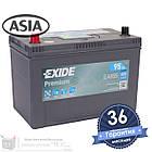 Аккумулятор автомобильный EXIDE Premium 6CT 95Ah ASIA, пусковой ток 800А [+|–] (EA955), фото 3