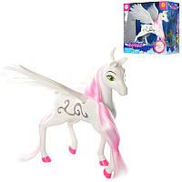 Лошадка DEFA 8325, ангел, 23см, с крыльями, звук, свет,на бат-ке(табл)