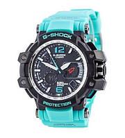 Часы Касио Джи-шок Casio G-Shock GPW-1000 Wristband Спортивные, Мужские, чоловічий годинник, чорні