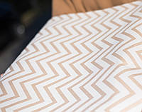 "Упаковочная крафт-бумага ""Geometry print"" 70cм * 100 см, фото 1"