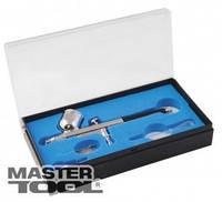 MasterTool  Мини аэрограф с набором аксессуаров ПРОФ., Арт.: 81-8711