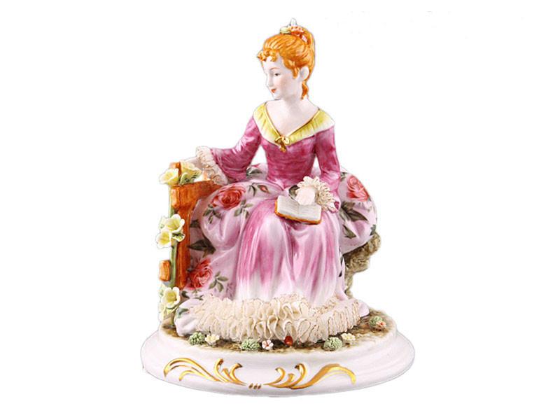"""Фарфоровая коллекционная статуэтка Lefard """"Девушка Алиса"""" 101-674"""