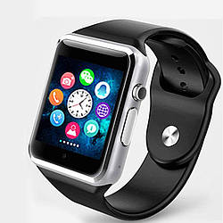 Смарт-часы Smart Watch A1 Silver-Black (2d-30)