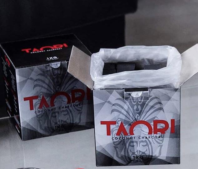 Уголь для кальяна кокосовый Taori 1 кг,