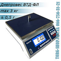 Фасовочные весы Днепровес ВТД-ФЛ (ВТД-3ФЛ), фото 1
