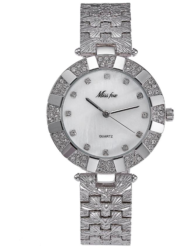 Женские часы Miss Fox silver (20625)
