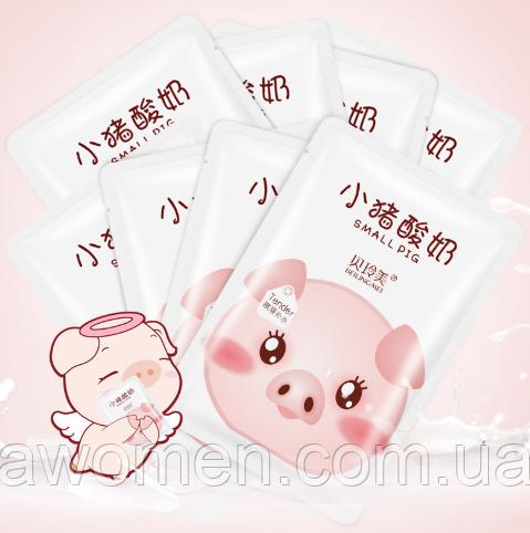 Маска для лица йогуртовая Beilingmei Small Pig White 25 g
