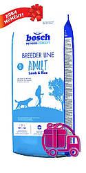 Корм Bosch Breeder Adult Lamb&Rice Бош Брідер Едалт Ягня і рис для собак 20 кг