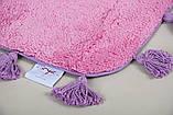 Килимок у ванну 70х110 Joy рожевий Irya, фото 2
