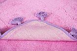 Килимок у ванну 70х110 Joy рожевий Irya, фото 3