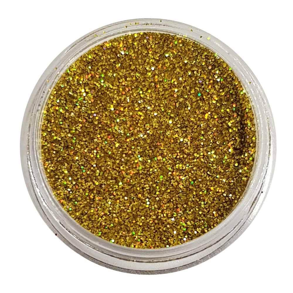 Сыпучие блестки-глиттеры STARLOOK золотые голографические