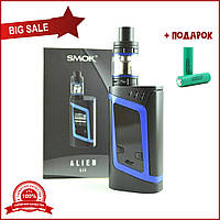 Электронная сигарета SMOK Alien Kit 220W. Синий вейп