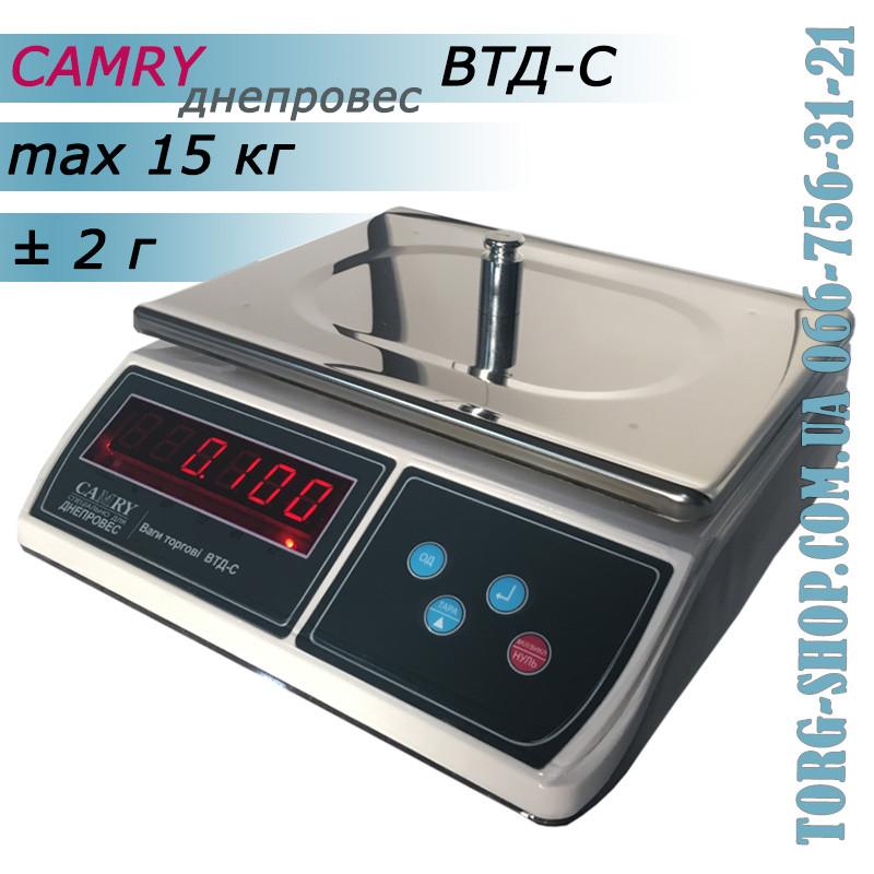 Фасувальні ваги Днепровес Camry ВТД-C (ВТД-15C)
