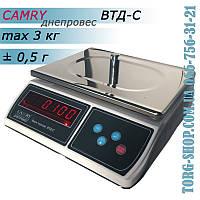 Фасовочные весы Днепровес Camry ВТД-C (ВТД-3C), фото 1