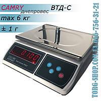 Фасовочные весы Днепровес Camry ВТД-C (ВТД-6C), фото 1