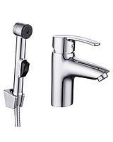 Набор для биде Imprese HORAK смеситель + гигиенический душ с держателем + шланг 1,5м 53958 хром   (31051)