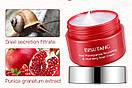 Крем для лица Bisutang Red Pomegranate & Snail Cream с экстрактом граната и улитки 30 g, фото 3