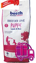 Корм Bosch Breeder Puррy Lamb&Rice Бош Брідер Паппі Ягня і рис для цуценят 20 кг