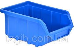 Емкость для мастерской синяя малая, 170x115x75 мм