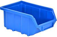 Емкость для мастерской синяя средняя, 250x160x130 мм