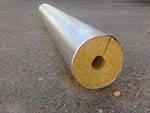 Минераловатные цилиндры базальтовые с покрытием алюминиевая фольга