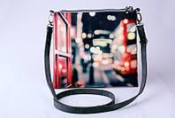 Женский клатч Ночной Лондон,сумка через плечо с принтом