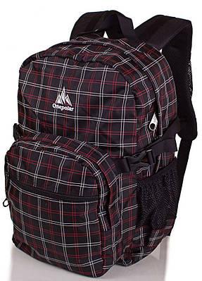 Стильный городской рюкзак с отделением для ноутбука 25 л. Onepolar W1573-black черный