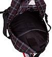 Стильный городской рюкзак с отделением для ноутбука 25 л. Onepolar W1573-black черный, фото 8