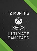 Подписка Xbox Game Pass Ultimate на 12 месяцев (Xbox/Win10) | Все Страны