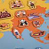 """Магнитная книга """"Карта мира"""" MiDeer Toys, фото 2"""