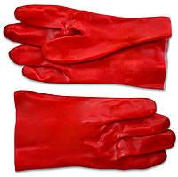 Перчатки резиновые маслостойкие 35см