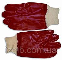 Перчатки бензомаслостойкие с манжетом
