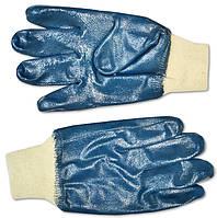 Перчатки резиновые маслостойкие с манжетом Nitril