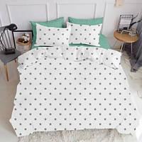 Комплект постельного белья Бязь Люкс комплект постельного белья STAR GREY полутораспальный, евро, двуспальный