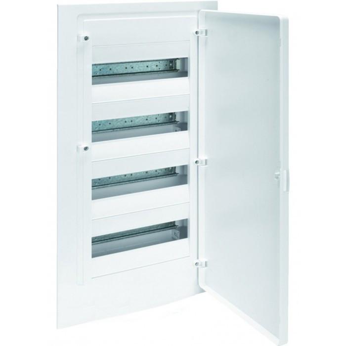 Щит в/у з білими дверцятами, 48 мод. GOLF (VF412PD)